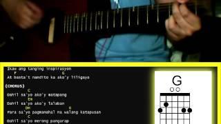 Dahil Sayo by Inigo Pascual - Guitar Chords