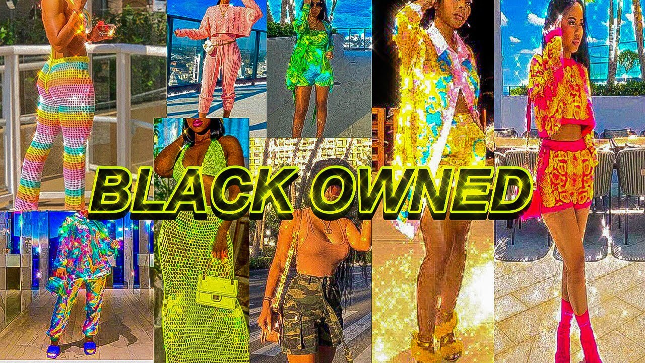 Black Owned Clothing Stores You NEED to Know About ?  Where to Buy Cheap Clothes Online 2020!!