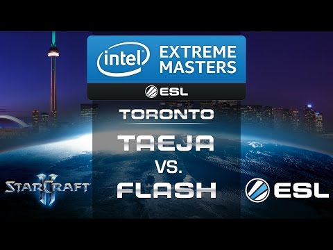 Taeja vs. Flash (TvT) - IEM Toronto 2014 - Semifinal - StarCraft 2