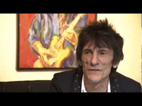 Ronnie Wood Talks Art Exhibit, Rolling Stones