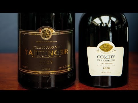 Prestige Cuvée vs Vintage Champagne with Jancis Robinson - Taittinger Champagne Pair 8/8