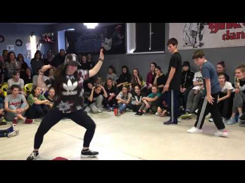 Ghetto Dance Style Armory Preselection Alan & Vanja vs Laura & Katya