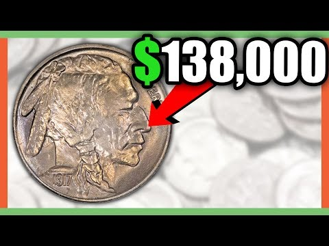 $138,000 BUFFALO NICKEL - RARE NICKELS WORTH MONEY!!
