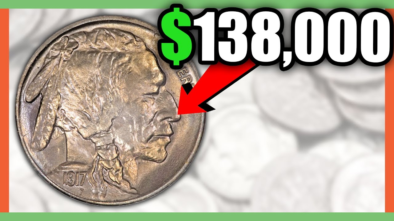 138 000 Buffalo Nickel Rare Nickels Worth Money Youtube