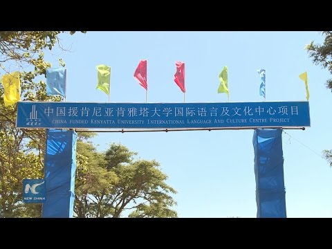 Chinese built center to boost cultural exchange in Kenya