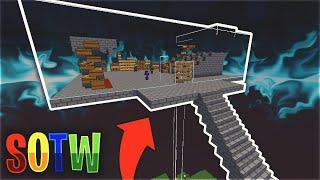 LIVING ON A SKYBRIDGE SOTW... *SCARY PVP* | Minecraft HCF