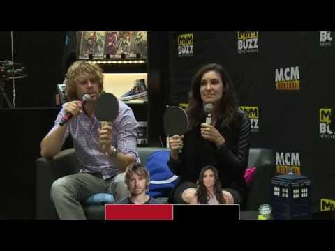 INTERVIEW NCIS:LA Stars Eric Christian Olsen & Daniela Ruah @ MCM Comic Con London