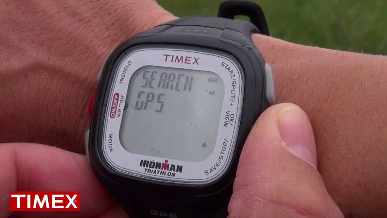 (NEW) Timex Ironman Easy Trainer GPS Sports Watch - YouTube