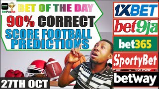 Correct Score #Football Betting Tips today / Correct Score #Soccer Predictions Today #bet365 #1xbet screenshot 1