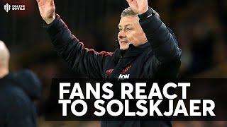 OLE'S AT THE WHEEL! Man Utd Fan Reaction