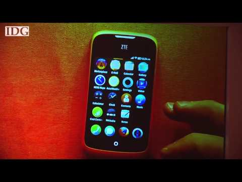 MWC2013: Mozilla demos new Firefox OS on ZTE smartphone