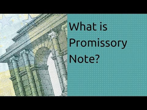 Learn What is Promissory Note | Bills of Exchange Accounting | CA CPT | CS & CMA | Class11 | Class12