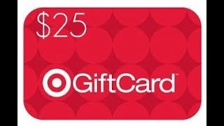 $25 Target Gift Card Giveaway (Fortnite V-bucks)