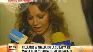 Thalia At Maria Felix Auction 1
