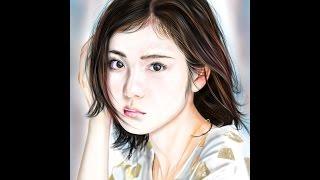 http://ibispaint.com/art/180607595/ 下描き取り込み仕上げてます.