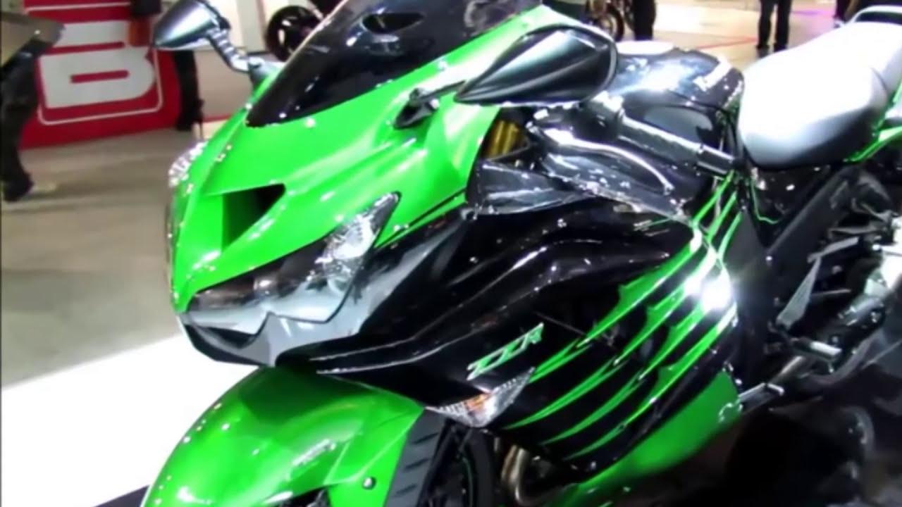 2014 Kawasaki Ninja ZX14R 1400 cc Sport Bike Pictures