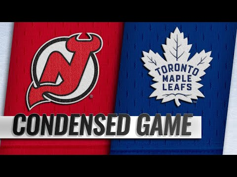 11/09/18 Condensed Game: Devils @ Maple Leafs