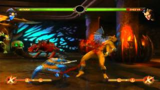 Biggest Midscreen and Wall Combos in Mortal Kombat 9 (NO X-RAY)