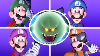 Luigi's Mansion 3 - Scarescraper All Floors (4 Players)