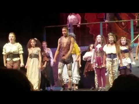 """Atlantic County Institute of Technology (ACIT) production of Musical """"Pippen"""" Scene - """"King Pippen"""""""