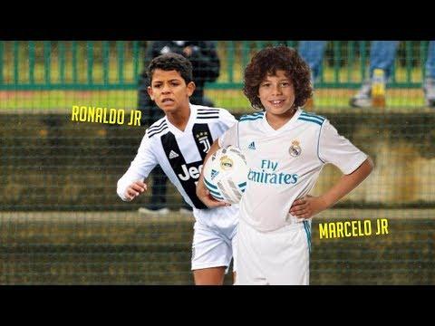 Cristiano Ronaldo Jr & Marcelo Jr - Future Legends? Best Skills & Goals