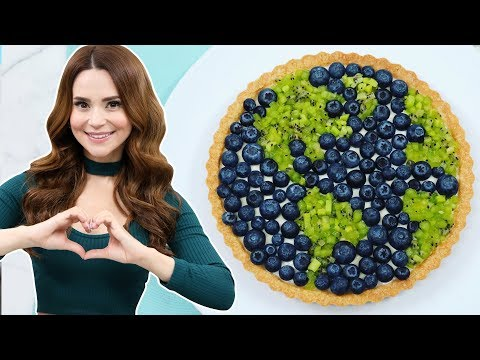 HOW TO MAKE AN EARTH TART - NERDY NUMMIES