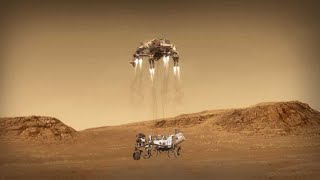 After nearly 300 million miles (470 km), nasa's perseverance rover completes its journey to mars on feb. 18, 2021. but, reach the surface of r...