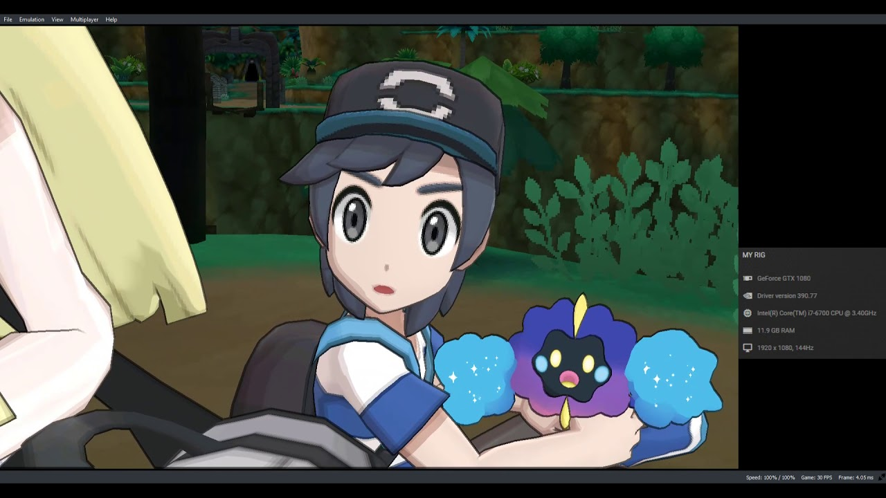 Citra Canary - Pokemon Moon Full Speed (Hardware Renderer || GTX 1080 -  i7-6700)