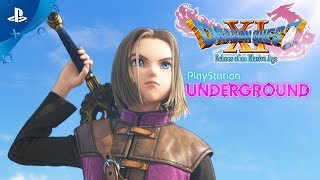 Dragon Quest XI - PS4 Gameplay | PlayStation Underground