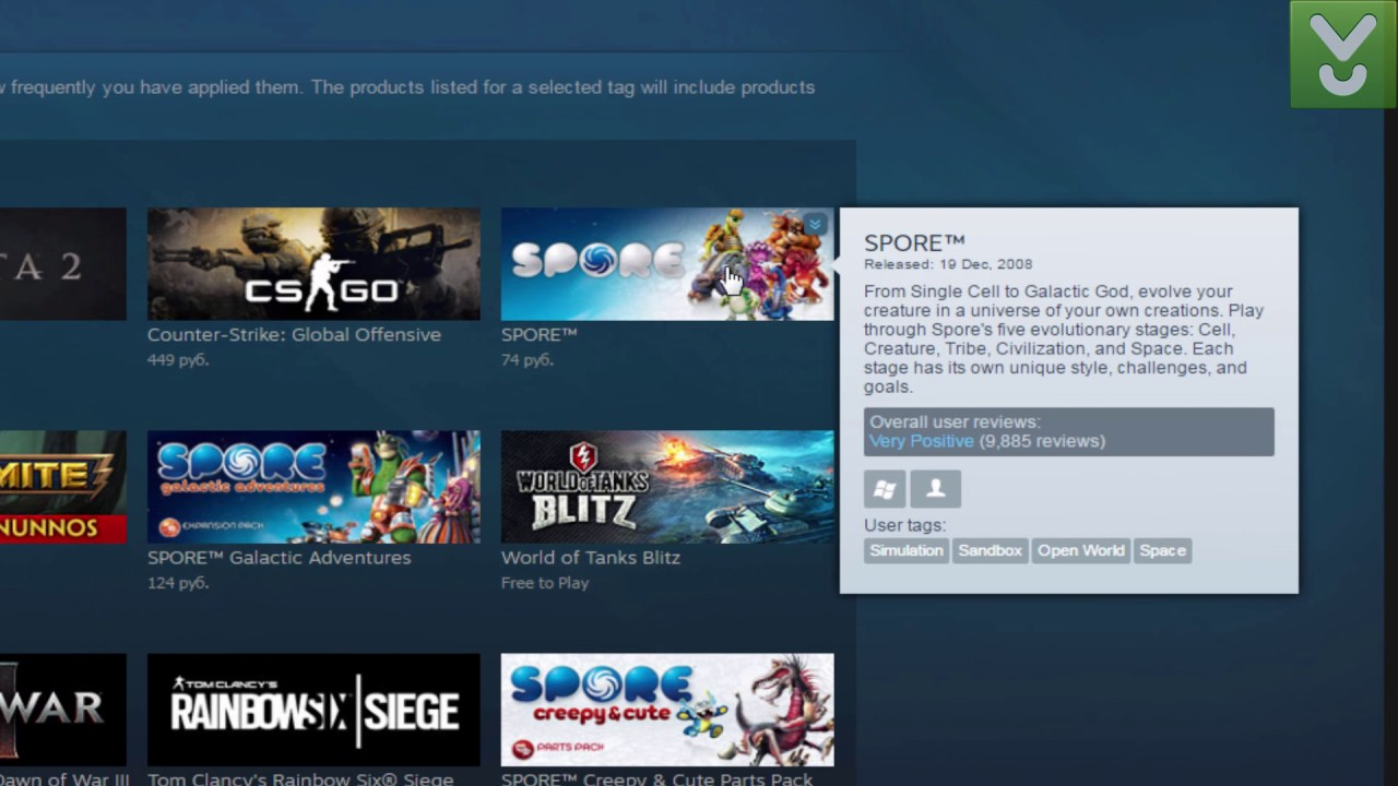 Steam - Purchase, download, and play video games - Download Video Previews