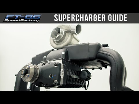 Everything About Superchargers | FRS BRZ 86