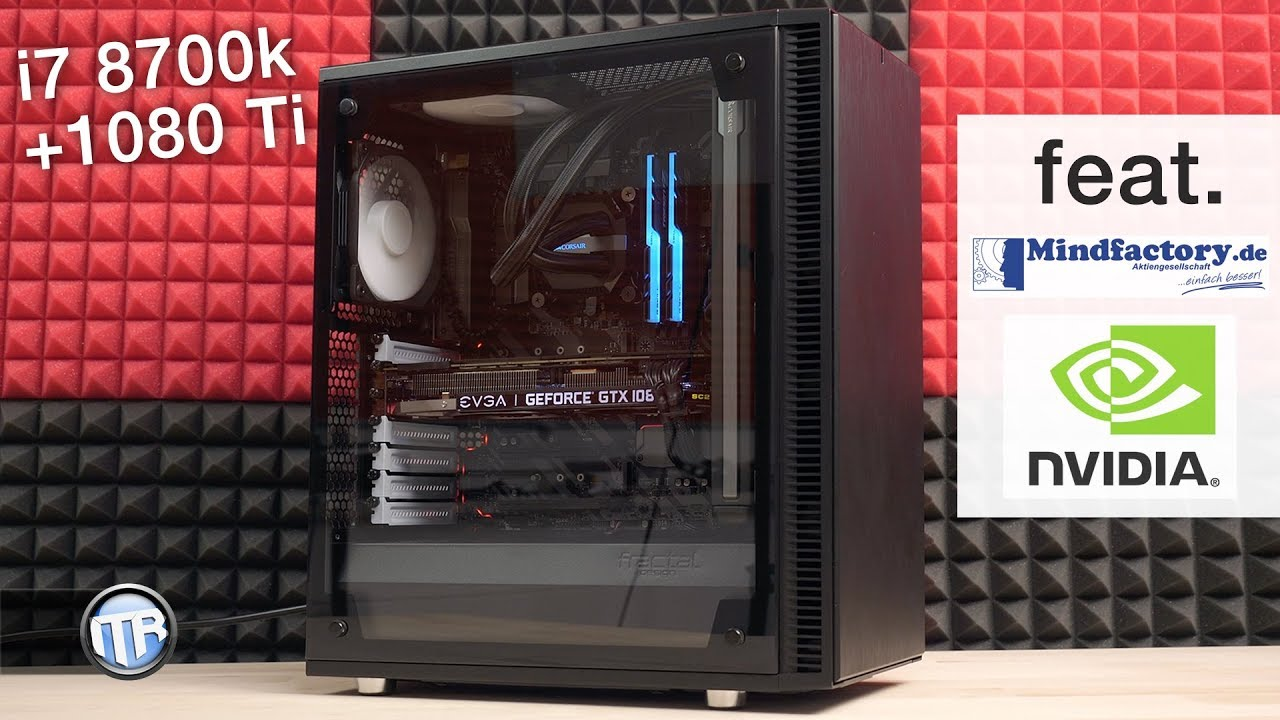 2 000€ Gaming PC - i7 8700k, GTX 1080 Ti, 16GB RAM