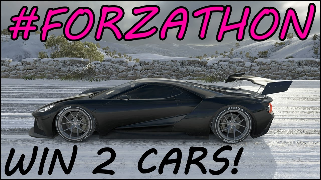 Forzathon Win Horizon Edition Ford Gt Bentley  Gt How To Win Forzathon Cars Fh