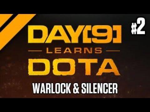 Dota 2 Safelane w/ Purge - Warlock & Silencer P2