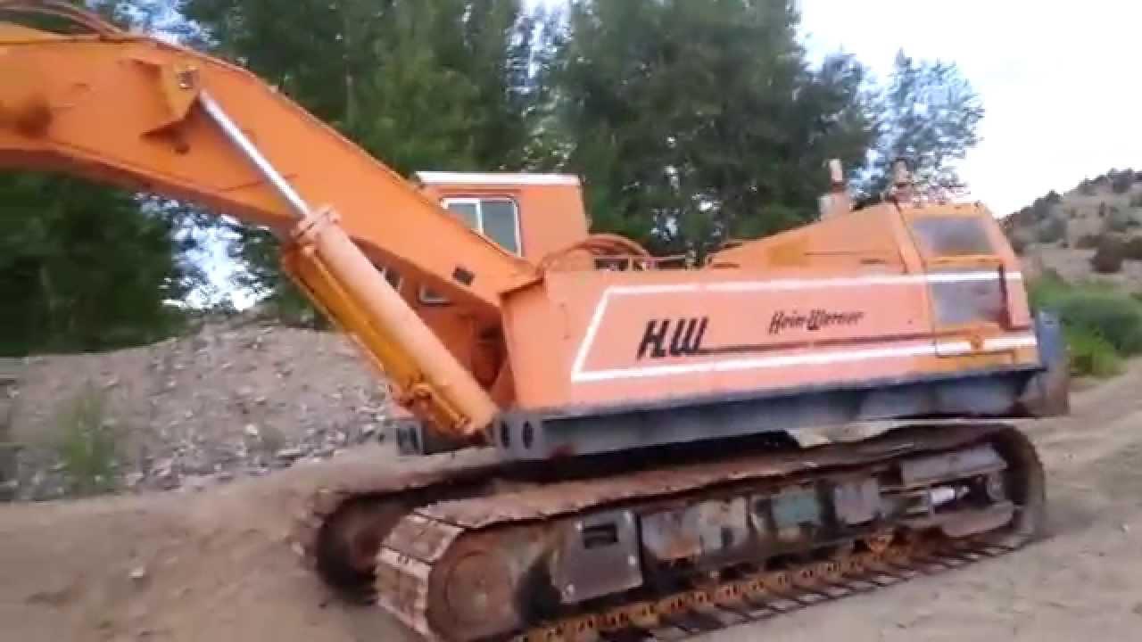 Hein Werner C 28 Excavator Youtube