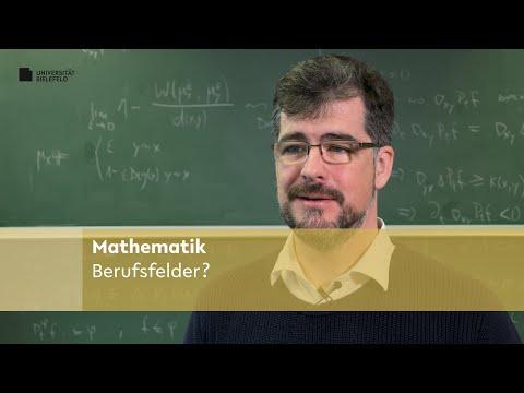 Mathematik: Berufsfelder