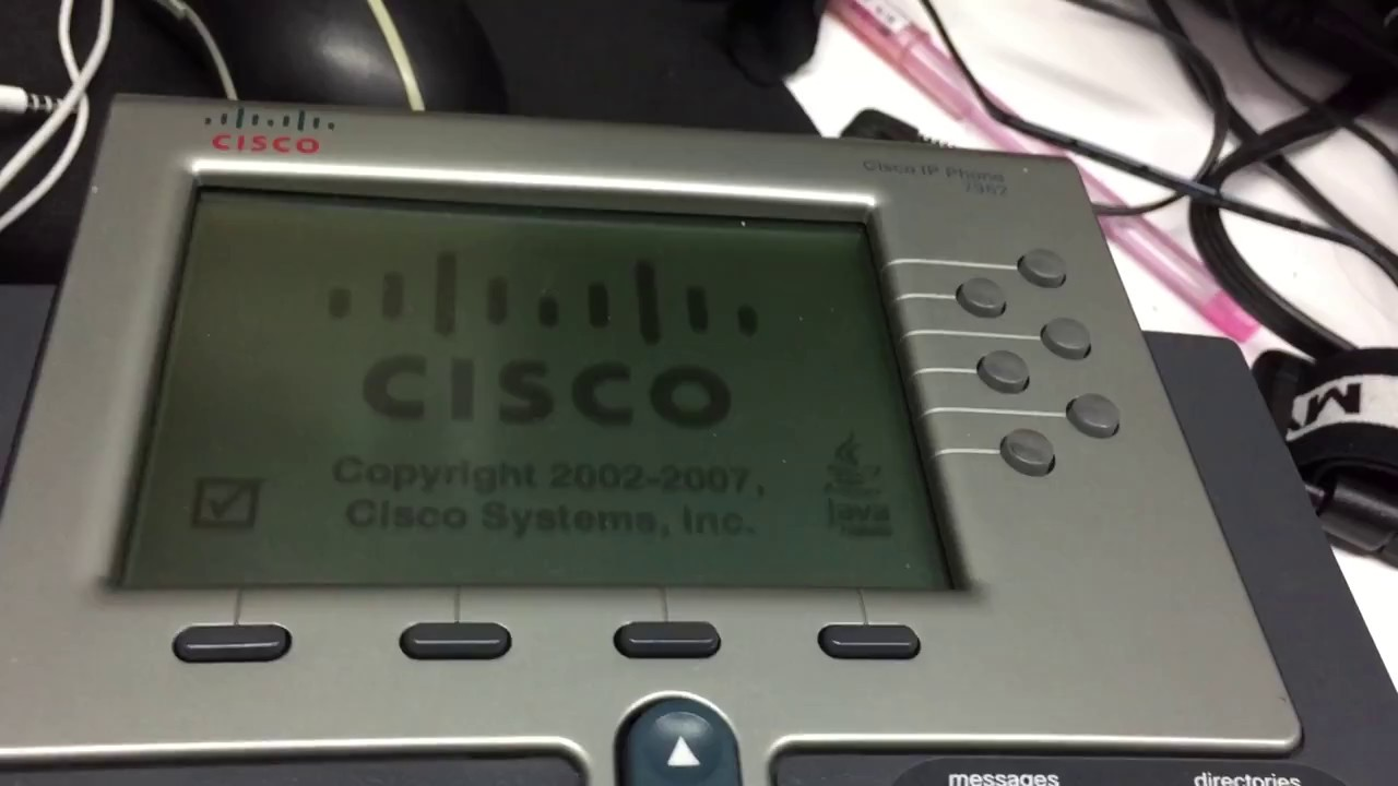 Cisco 7962 7962G upgrade SIP (or SCCP) firmware, reset factory default, fix  loop upgrading reboot