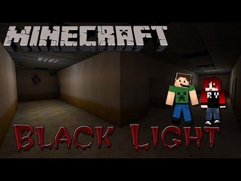 Black Light + FaceCam - Minecraft Suspense Custom map