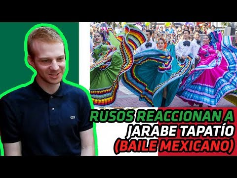 RUSOS REACCIONAN a JARABE TAPATÍO   REACCIÓN