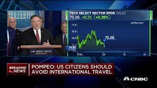 State Secretary Mike Pompeo: U.S. citizens should avoid international travel