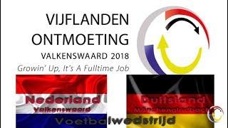 Vijflandenontmoeting Nederland - Duitsland Maart 2018