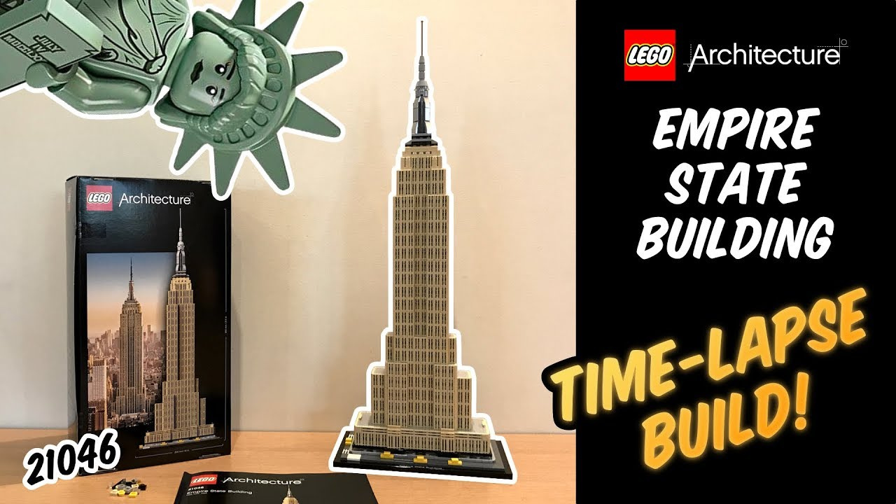 Lego Architecture Empire State Building 21046 Shop Clothing Shoes Online