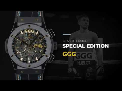 "HUBLOT - CLASSIC FUSION SPECIAL EDITION ""GGG"""
