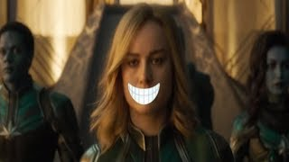 Brie Larson Snaps Back At Fans Who Have THE AUDACITY To Suggest That Super Heroes Should Smile!