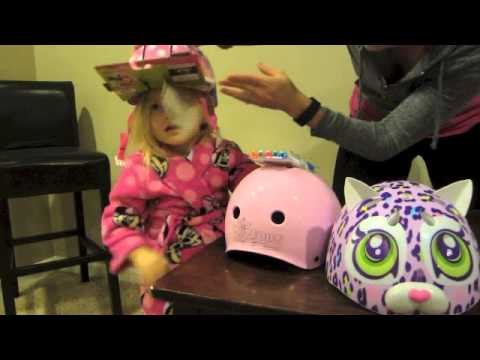 Kenzie's Toddler Helmet Review