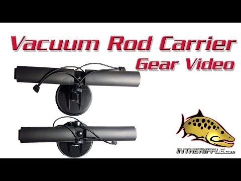 Vacuum VMT Fly Fishing Rod Carrier | Vehicle Fly Fishing Rod Mount