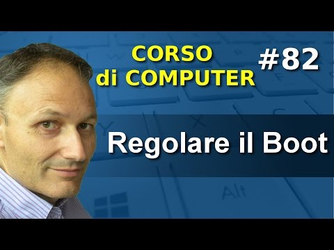 # 82 Bios e Boot in Windows 7 e 10 - Corso computer Associaz