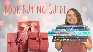 Book Buying Guide | Books You Need in Your Homechool |Homeschool Mom