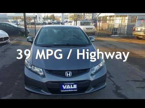 2013 Honda Civic LX for sale in NOVATO, CA