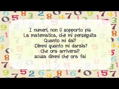 Jovanotti -  Il Numeri CON LETTERE (ITALIANO)